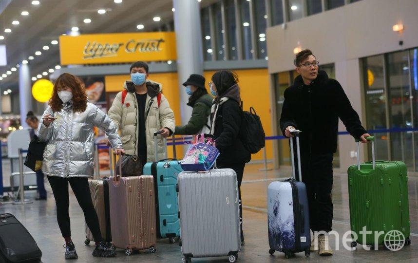 С 31 января все рейсы в Китай перенесены в терминал F столичного аэропорта Шереметьево. Фото Василий Кузьмичёнок