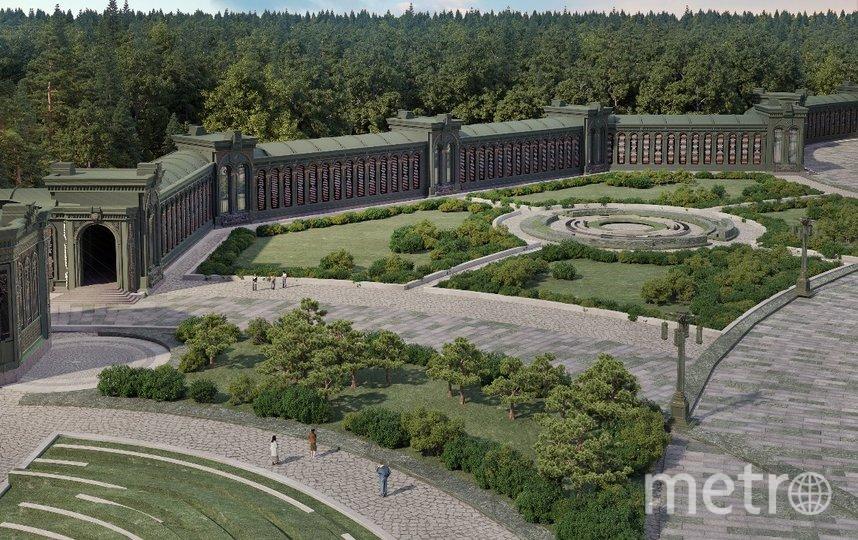 «Дорога памяти» разместится под крышей. Фото mil.ru