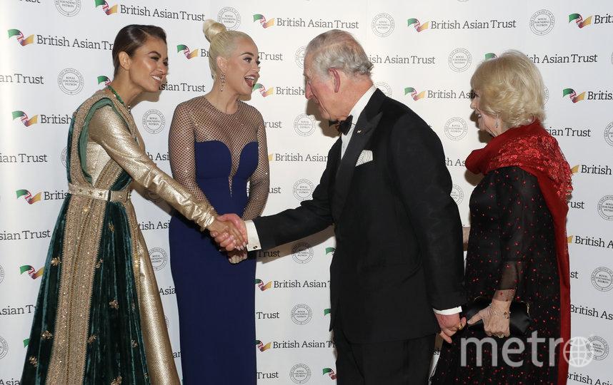Наташа Пунавалла, Кэти Перри, принц Чарльз и его супруга Камилла. Фото Getty