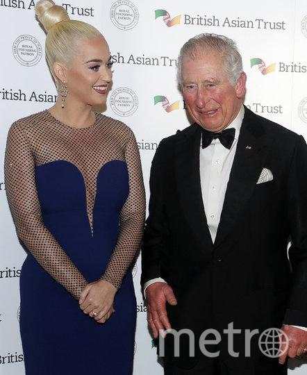 Кэти Перри и принц Чарльз. Фото Getty