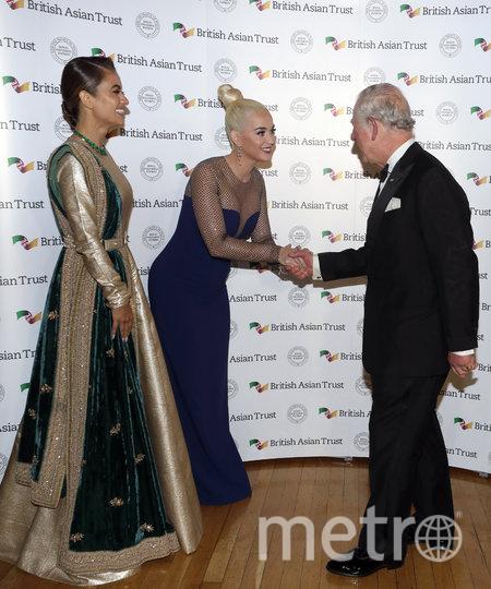 Наташа Пунавалла, Кэти Перри и принц Чарльз. Фото Getty