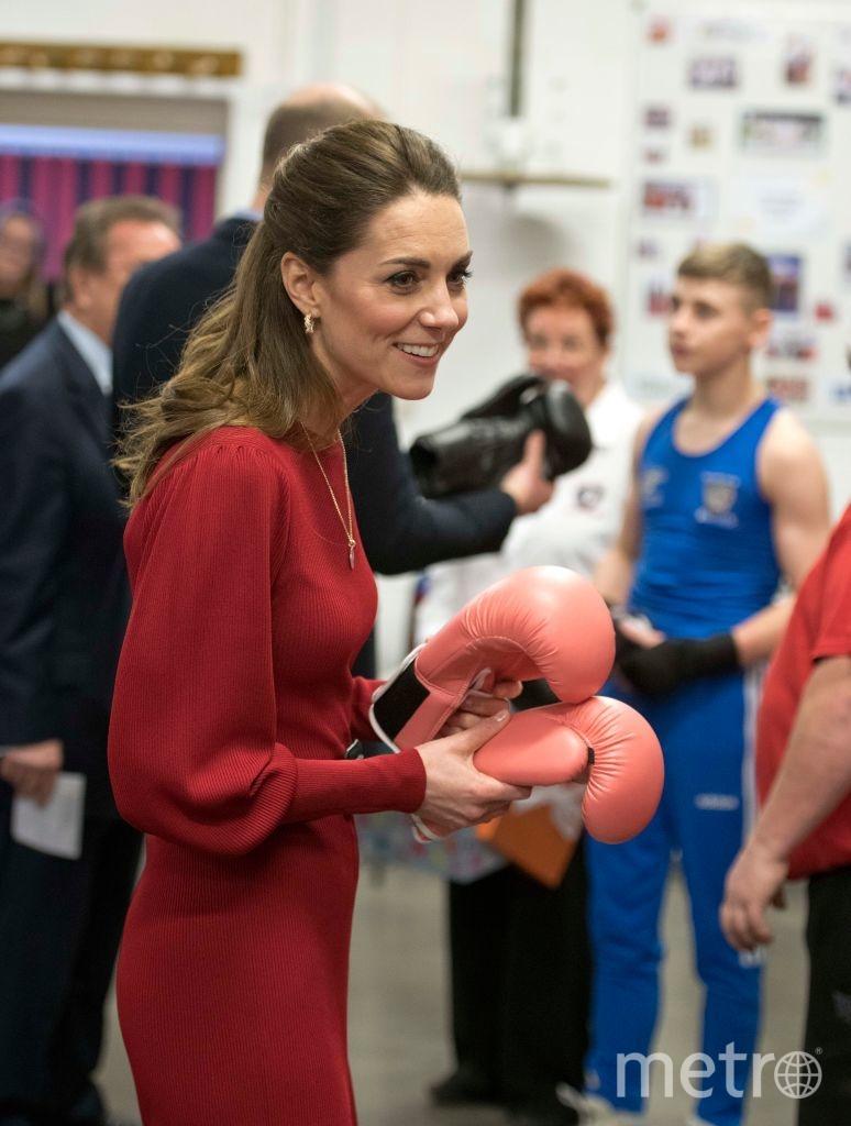 В боксерском клубе в Южном Уэльсе. Фото Getty