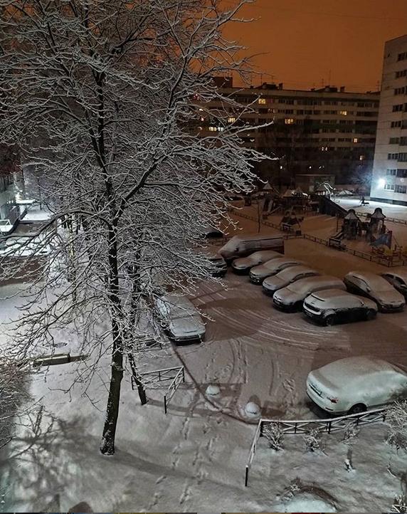 """""""Зима, ты ли это?"""" Фото Скриншот Instagram: @anastasiya.feliz"""
