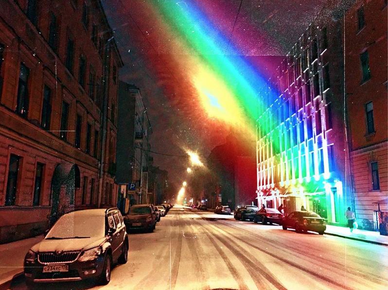 Петербуржцы постят снег в Instagram. Фото Скриншот Instagram: @johny_falovsky