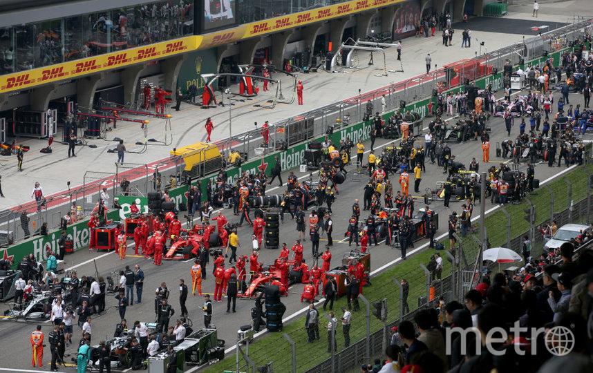 "Руководство ""Формулы-1"" готово перенести Гран-при Китая из-за коронавируса. Фото Getty"