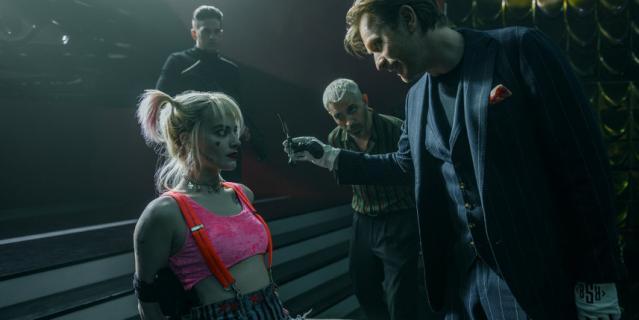 Марго Робби в роли Харли Квинн.