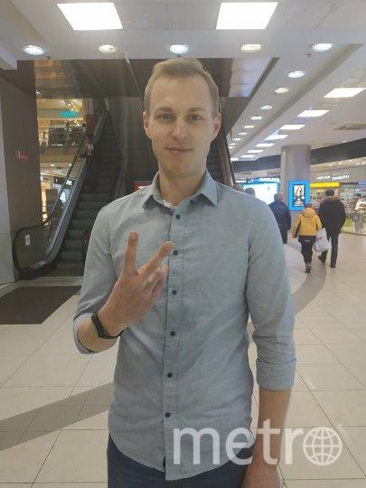 """Эдуард, 26 лет, консультант по питанию. Фото Наталья Сидоровская, """"Metro"""""""