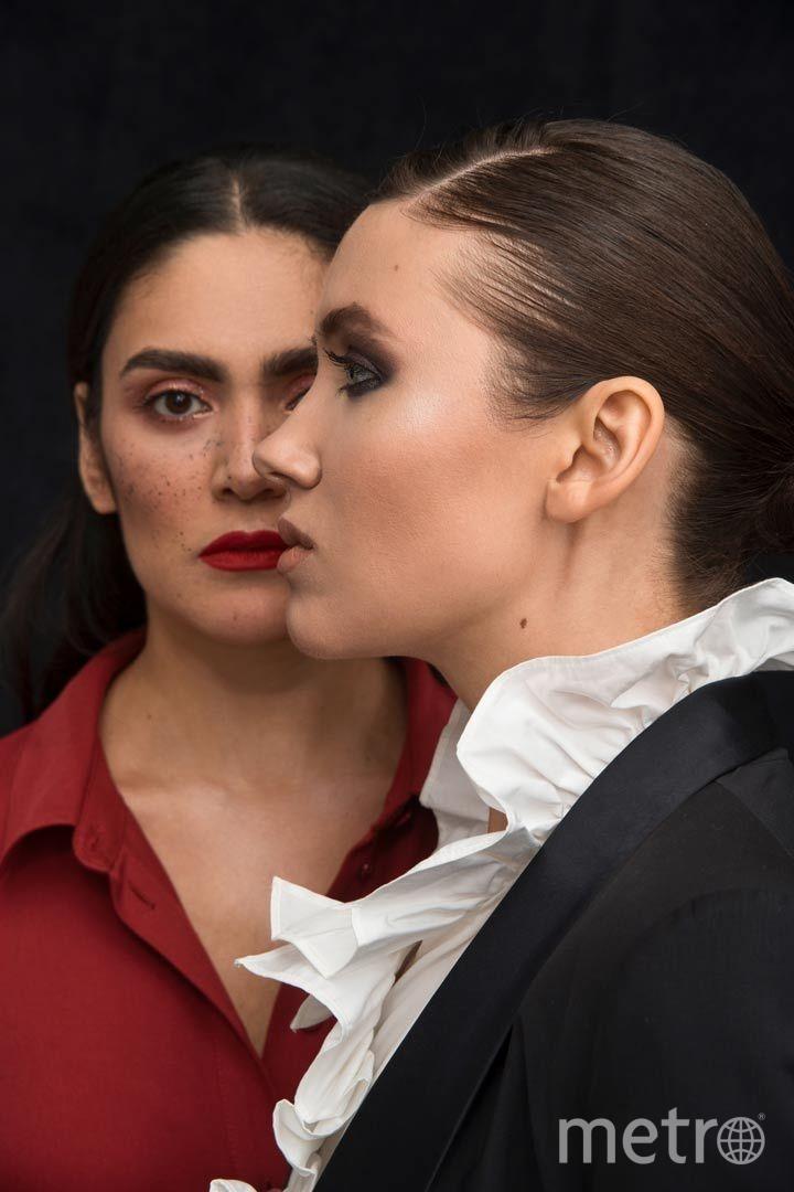 """В постановке по мотивам жизни мексиканской художницы говорят трое: Смерть, Фрида и исполняющая её роль актриса Наргис Абдуллаева. Фото предоставлено """"DOC на острове"""", Предоставлено организаторами"""