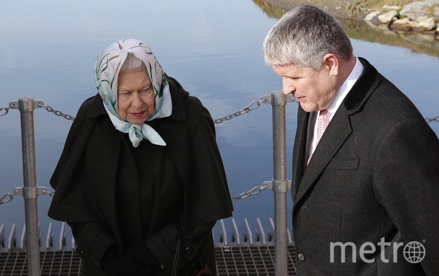 Елизавета II посетила насосную станцию в поместье Сандрингем. Фото Getty