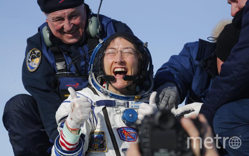 Кристина Кох. Фото AFP