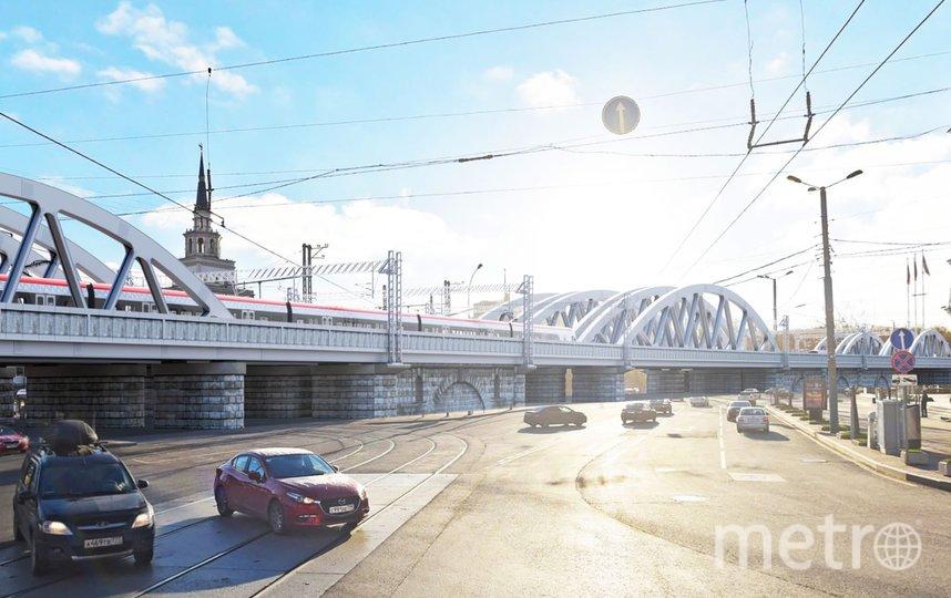 """Проект. Фото """"Сибжелдорпроект"""", предоставлено пресс-службой Москомархитектуры, """"Metro"""""""