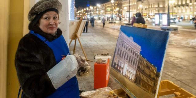 Тамара Коновалова надела на себя самое теплое, что у нее было – норковую шубу.