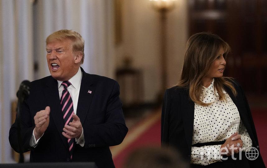 Мелания и Дональ Трамп. Фото Getty