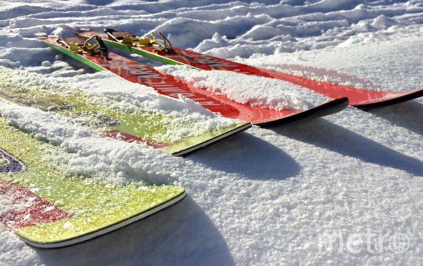 В карьере под Петербургом, провалившись под лёд, погибли двое лыжников. Фото Pixabay.com