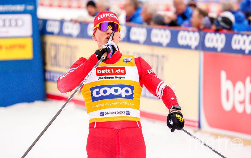Большунов выиграл масс-старт на 15 км свободным стилем на Кубке мира. Фото Getty