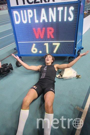Шведский прыгун с шестом побил мировой рекорд. Фото Скриншот @WorldAthletics