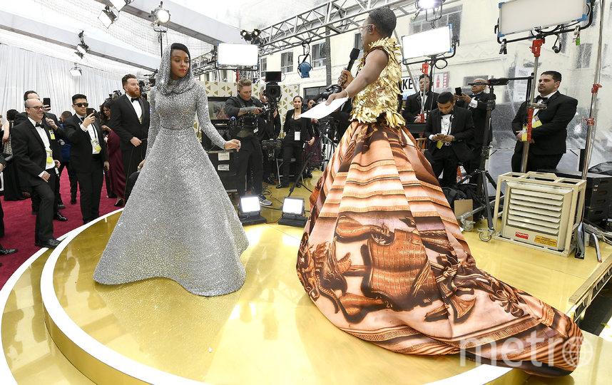 """Билли Портер пришёл на церемонию вручения премии """"Оскар"""" в платье. Фото Getty"""