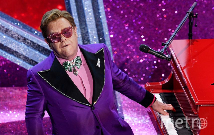 Элтон Джон на сцене. Фото Getty