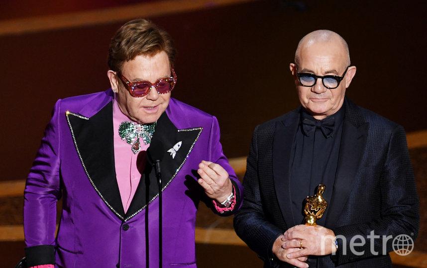 Элтон Джон получил премию во второй раз. Фото Getty
