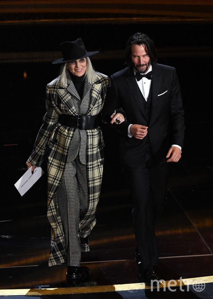 """Киану Ривз на """"Оскаре"""" с Дайан Китон. Фото Getty"""
