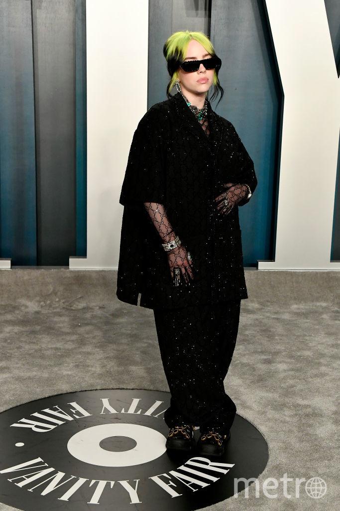 Билли Айлиш. Оскар 2020. Фото Getty