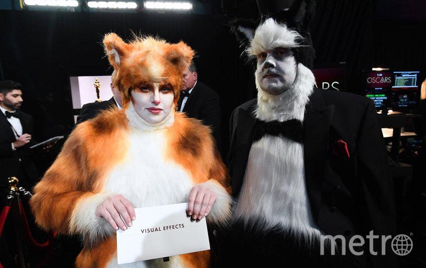 Джеймс Корбен и Ребел Уилсон. Фото Getty