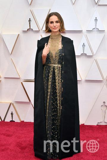 Натали Портман в наряде от Dior. Фото Getty