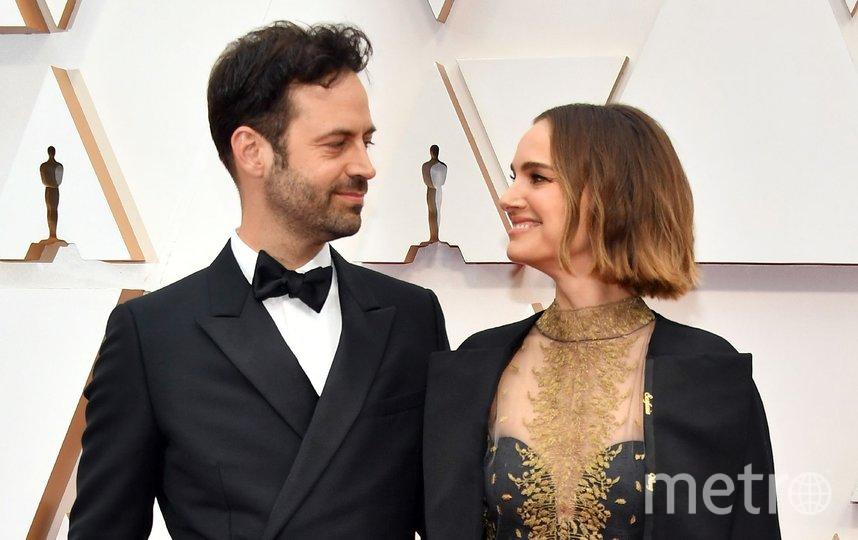 Натали Портман с супругом Бенжаменом Мильпье. Фото Getty