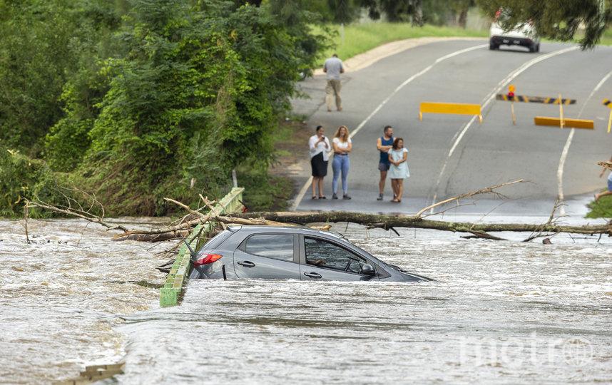 На Сидней обрушились проливные дожди. Фото Getty