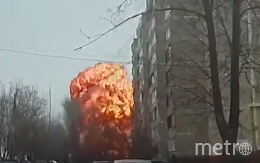 Момент взрыва попал на камеру. Фото скриншот видео https://www.youtube.com/watch?v=w-QLQQx9EVE, Скриншот Youtube