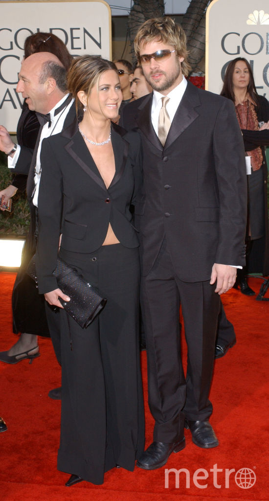 Дженнифер Энистон и Брэд Питт. Фото Getty