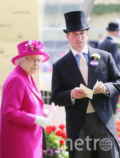 Питер Филлипс и Елизавета II. Фото Getty