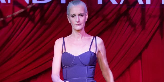 Неделя моды в Нью-Йорке покорила образами - необычными и эротичными.