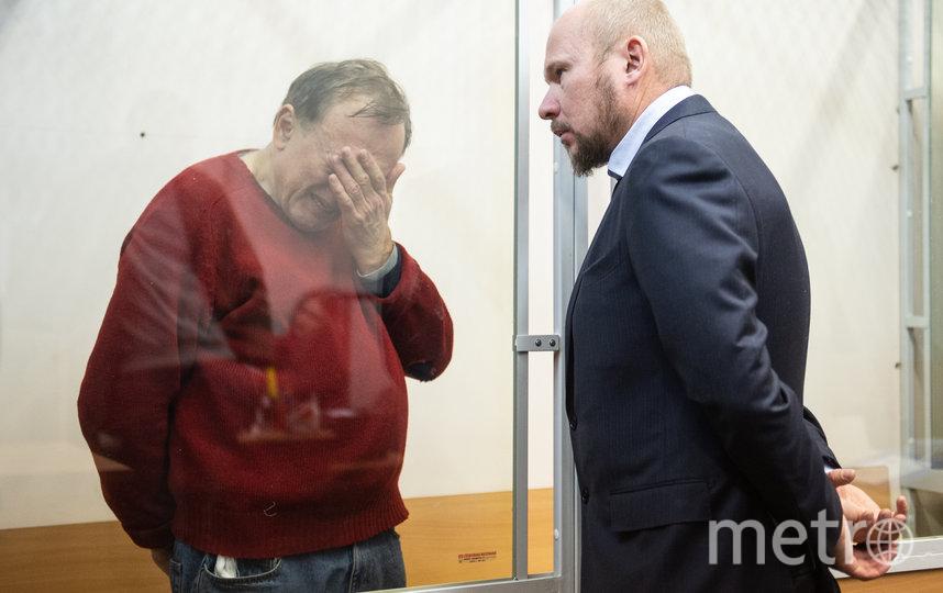 """Олег Соколов в зале суда 11 ноября 2019 года. Фото """"Metro"""""""