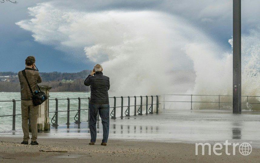 """Ураган """"Кьяра"""" обрушился на Европу. Австрия. Фото AFP"""