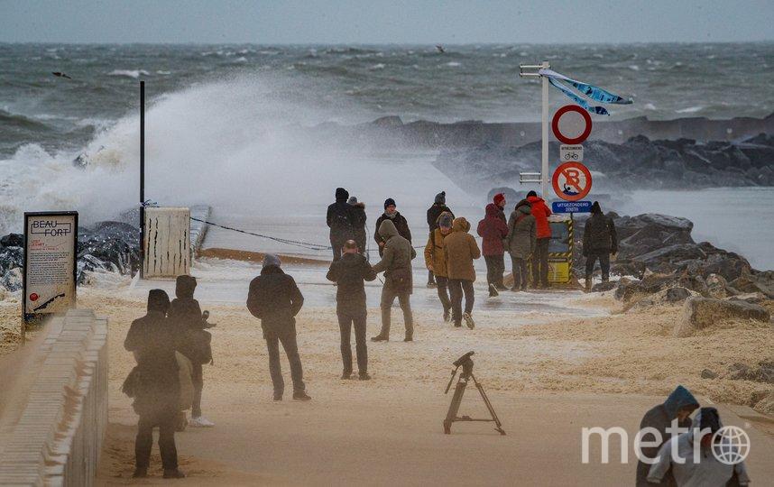 """Ураган """"Кьяра"""" обрушился на Европу. Бельгия. Фото AFP"""