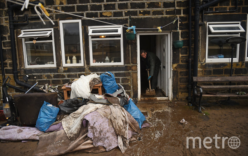 """Ураган """"Кьяра"""" обрушился на Европу. Великобритания. Фото AFP"""