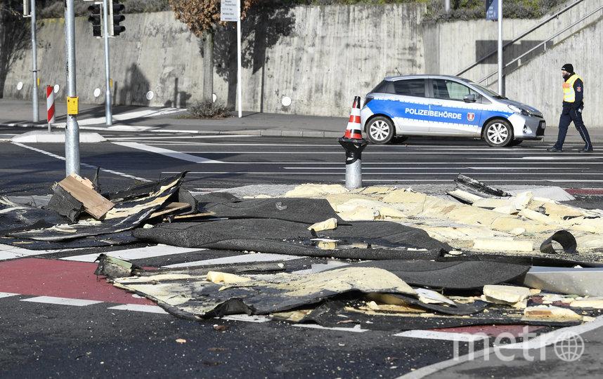 """Ураган """"Кьяра"""" обрушился на Европу. Германия. Фото AFP"""