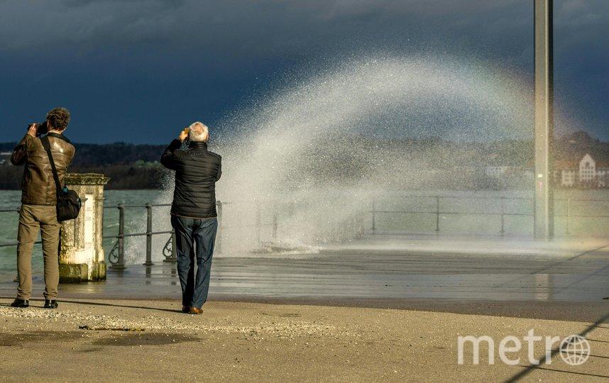 """Ураган """"Кьяра"""" обрушился на Европу. Фото AFP"""