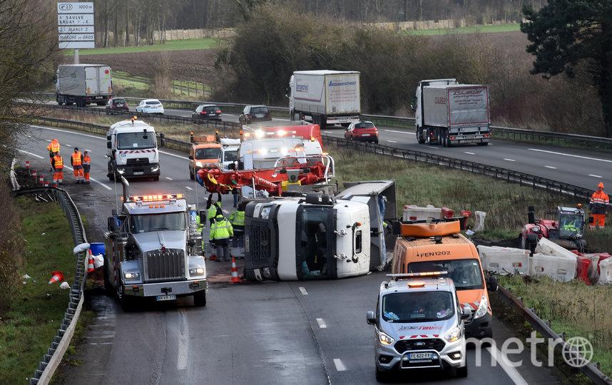 """Ураган """"Кьяра"""" обрушился на Европу. Франция. Фото AFP"""