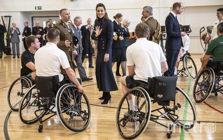 В госпитале для реабилитации военных. Фото Getty