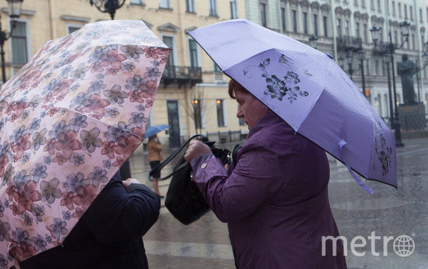"""Зонты пригодятся петербуржцам в ближайшие дни. Фото """"Metro"""""""