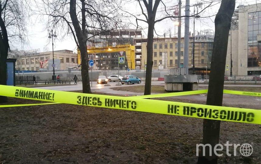 "Loketski выложил фото в Instagram. Перфоманс был создан утром 12 февраля. Фото https://www.instagram.com/loketski/, ""Metro"""