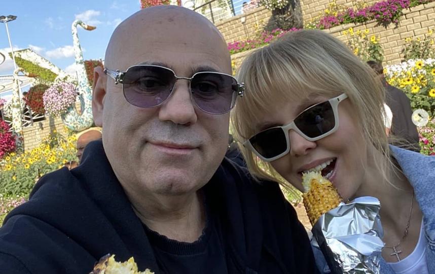Валерия и Иосиф Пригожин. Фото Скриншот Instagram: @valeriya