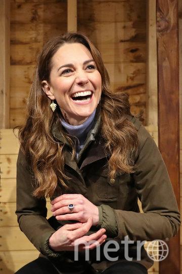 Кейт Миддлтон на ферме. Фото Getty