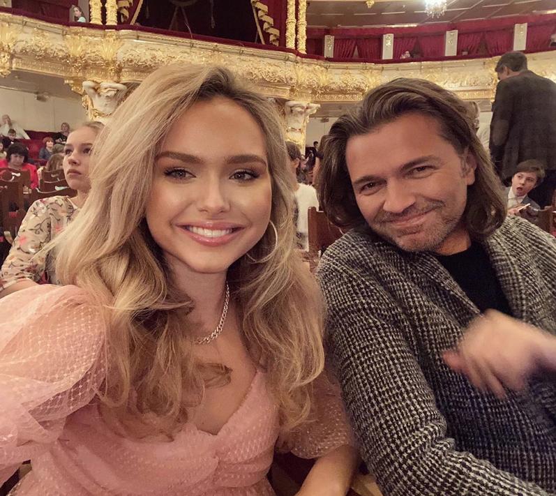 Стеша и Дмитрий Маликовы. Фото Скриншот Instagram: @steshamalikova