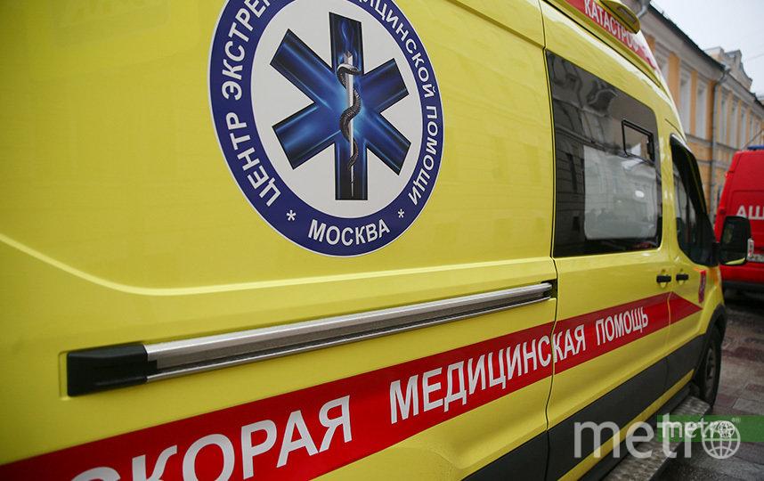 Пострадавшая школьница была доставлена в медучреждение. Фото Василий Кузьмичёнок