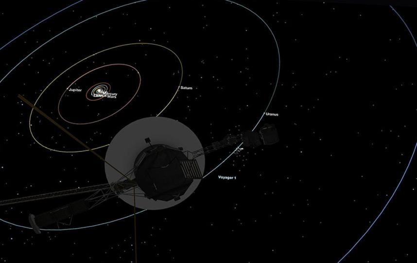 """В настоящее время космический зонд """"Вояджер-1"""" стремительно удаляется от нашей Солнечной системы. Фото NASA/JPL-Caltech"""