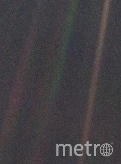 Оригинальный снимок Pale Blue Dot. Фото NASA/JPL