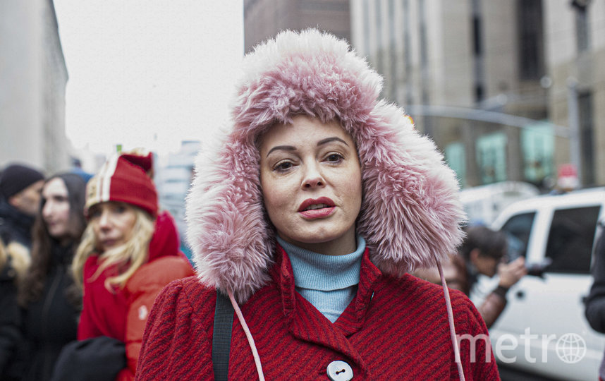 Роуз Макгоуэн была одной из первых, кто заявил о домогательствах со стороны Харви Вайнштейна. Фото Getty